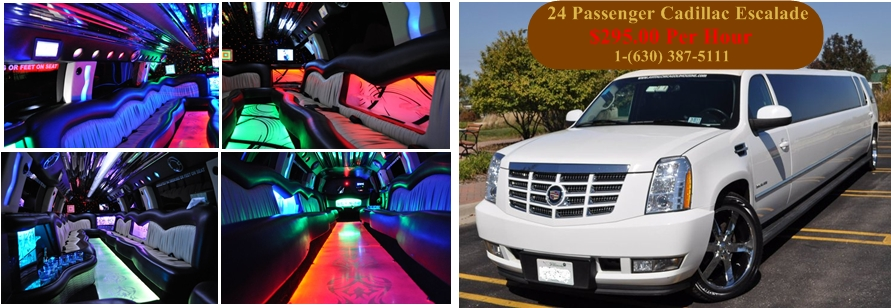 Chicago Cadillac Escalade Stretch SUV Limo